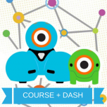 Wonder Workshop PD Bundle: Introduction to Coding and Robotics with Dash & Dot (Course and Dash Robot)