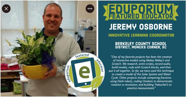 Eduporium Featured Educator: Jeremy Osborne