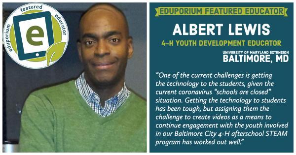Eduporium Featured Educator: Albert Lewis