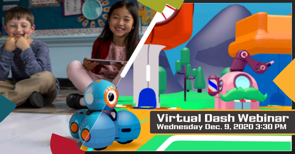 How to Use the Virtual Dash in Remote Coding Education