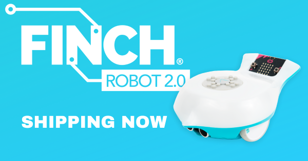 The Finch Robot 2.0 is Now Shipping!