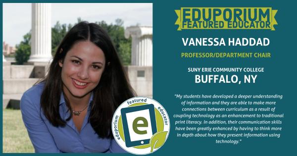Eduporium Featured Educator: Vanessa Haddad