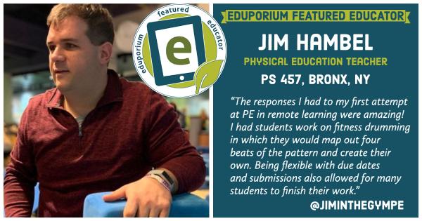 Eduporium Featured Educator: Jim Hambel