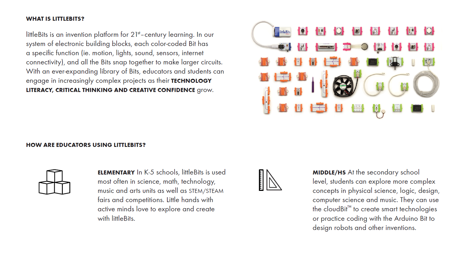 About littleBits